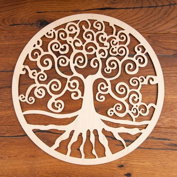 Berk Yggdrasil aus Holz ø 30 cm