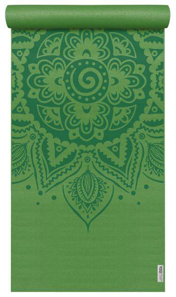 YogiStar Yogamatte Yogimat - Basic Art - Spiral Mandala kiwi