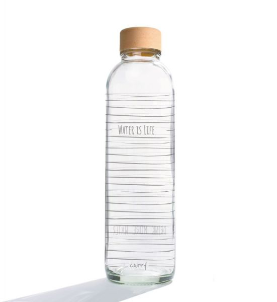 Carry Wasserflasche Water is Life 0,7 L