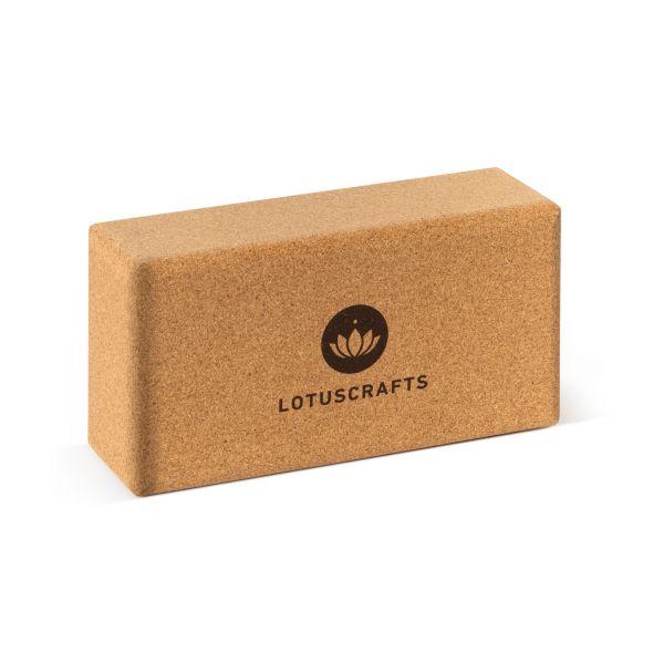 Lotuscrafts Yogablock Kork, klein
