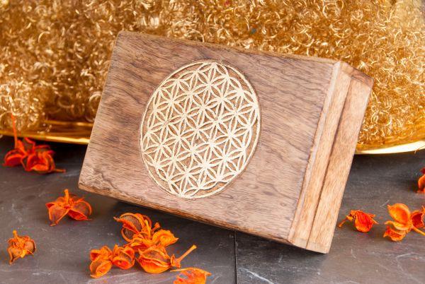 Berk Blume des Lebens - Holzbox