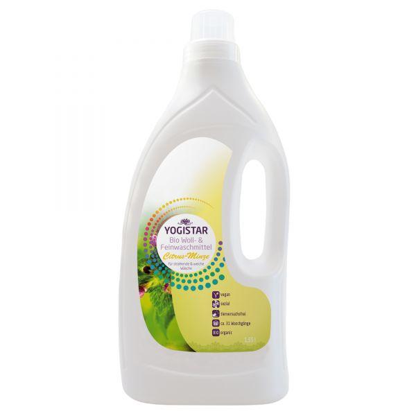YogiStar Bio Woll & Feinwaschmittel Citrus Minze - 1,55 L
