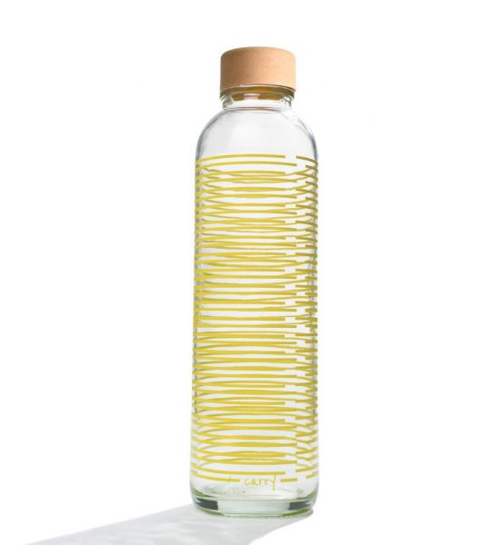 Carry Wasserflasche Yellow Twist 0,7 L