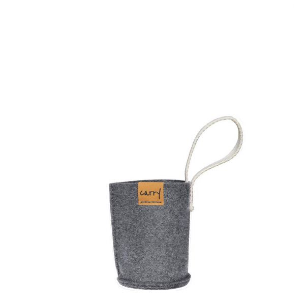 Carry Sleeve - grau 0,4 L