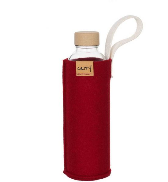 Carry Sleeve - weinrot 0,7 L