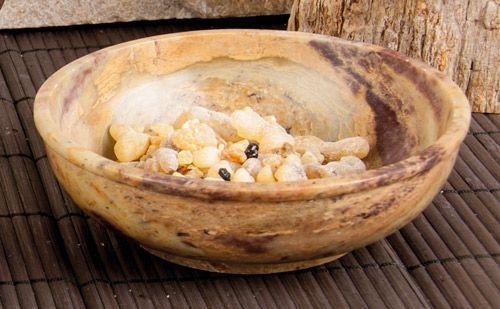 Specksteinschale, 13 cm Durchmesser