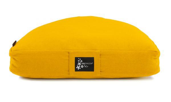 YogiStar Meditationskissen - Halbmond yellow