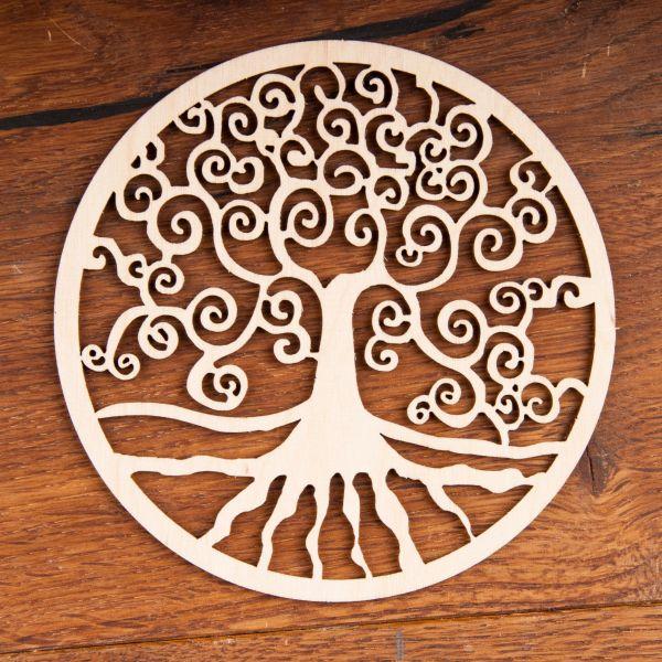 Berk Yggdrasil aus Holz ø 12 cm