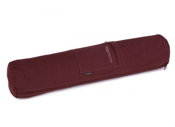 YogiStar Yogatasche Yogibag Basic Zip Cotton - Big 72 cm bordeaux