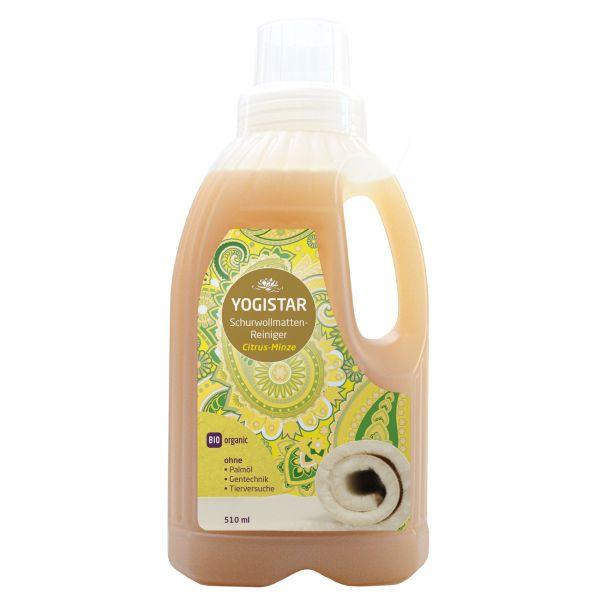 YogiStar Bio Schurwollmatten Reiniger Citrus Minze - 510 ml