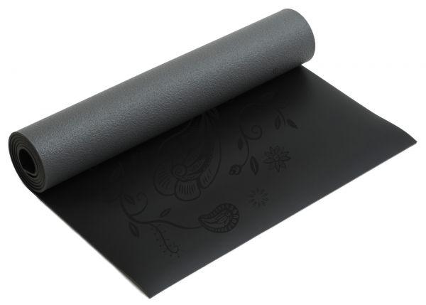 YogiStar Yogamatte Yogimat Ultra Grip - Black Indian Flower