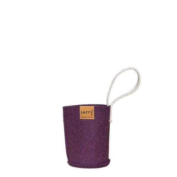 Carry Sleeve - mauve 0,4 L