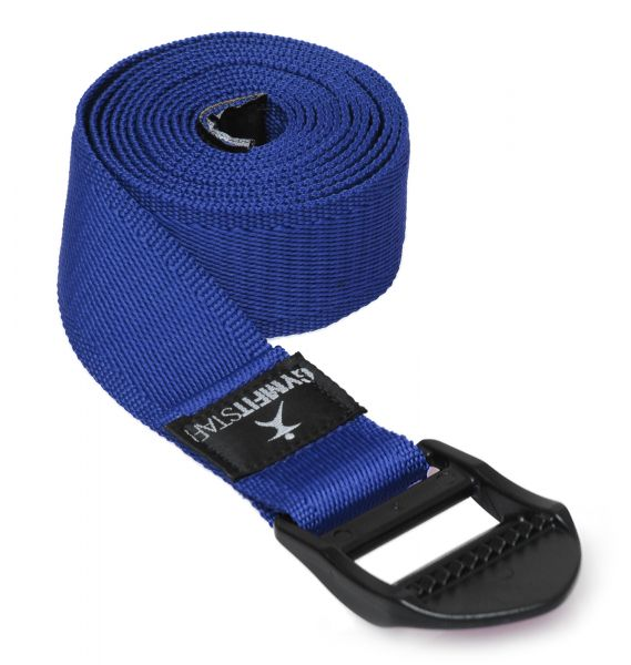 YogiStar Yogagurt für Yoga, Pilates & Fitness - PB 210 cm blau