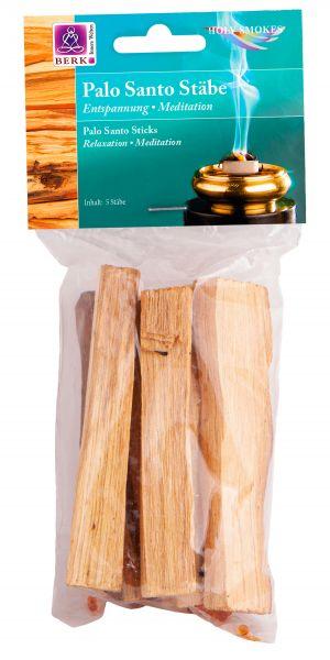 Berk Palo Santo Holzstäbe, 5 Stück