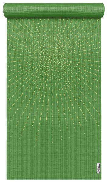 YogiStar Yogamatte Yogimat Basic Art - Sparkling Sunray kiwi