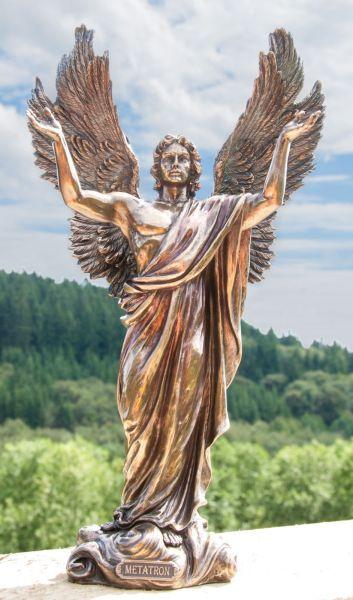 Veronese Design Statue - Erzengel Metatron, Kunstharz 37 cm