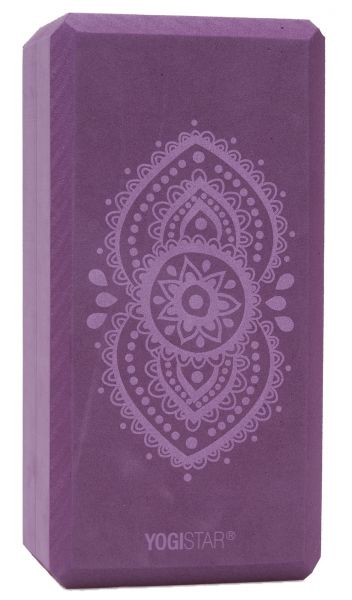 YogiStar Yogablock Yogiblock Basic Art Collection - Ajna Chakra / Aubergine