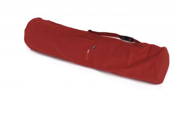 YogiStar Yogatasche Yogibag Basic Zip Cotton - Extra Big 109 cm red
