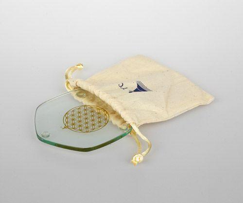 Berk Golden Voyagerplatte - Blume des Lebens