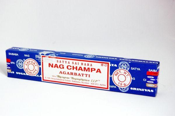 Sai Baba Nag Champa Räucherstäbchen 15 g