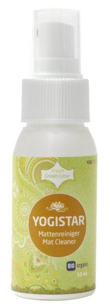 Yogistar Bio Yogamatten Reiniger - Fresh Green Lime 50 ml