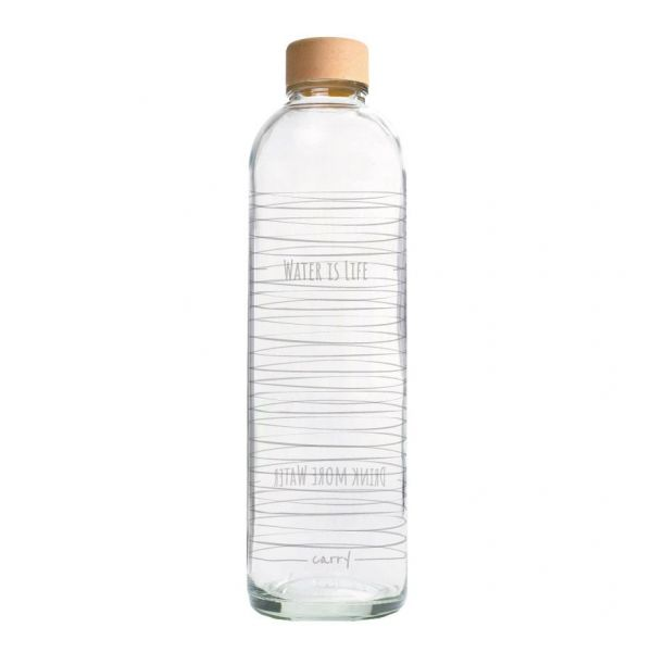 Carry Wasserflasche Water is Life 1 L