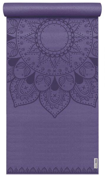 YogiStar Yogamatte Yogimat Basic Art - Harmonic Mandala aubergine