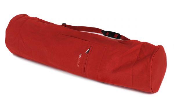 YogiStar Yogatasche Yogibag Basic Zip Cotton - Extra Big 80 cm red