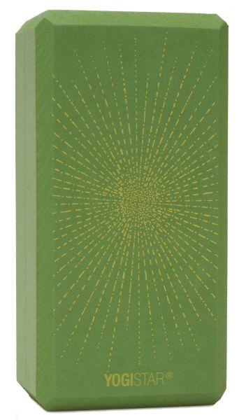 YogiStar Yogablock Yogiblock Basic Art Collection - Sparkling Sunray / Kiwi