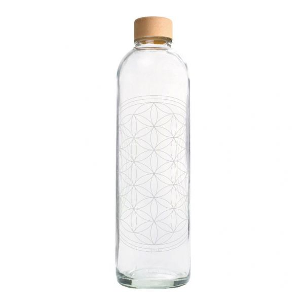 Carry Wasserflasche Flower of Life 1 L