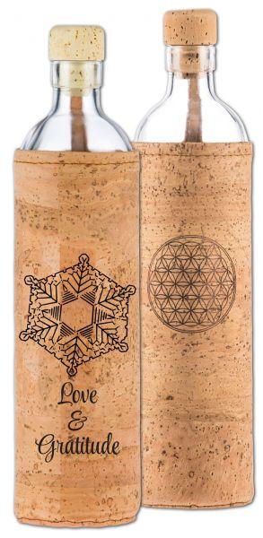 YogiStar Flaska Trinkflasche Spiritual Kork - 0,75 L