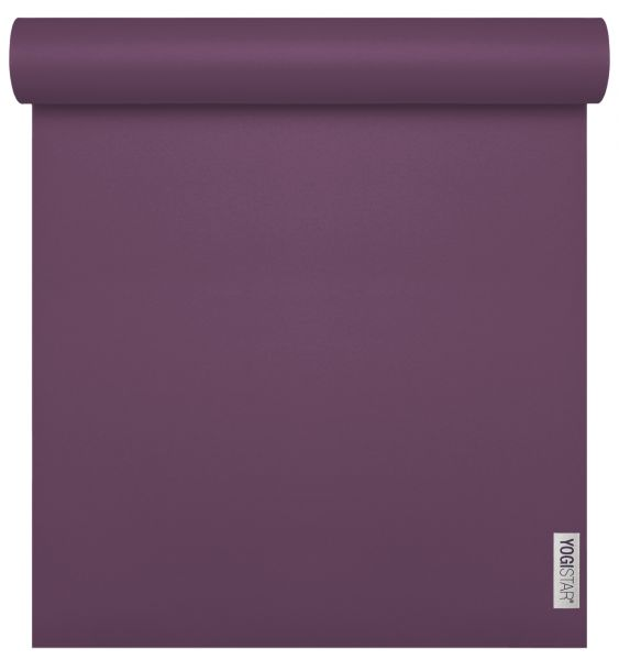 YogiStar Yogamatte Yogimat - Sun Travel plum (185cm x 60cm x 1,3mm)