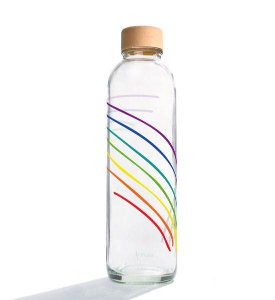 Carry Wasserflasche Rainbow 0,7 L