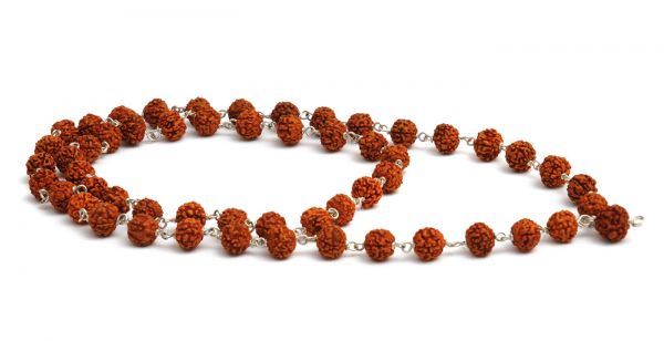 YogiStar Mala Kette Rudraksha 54 Perlen