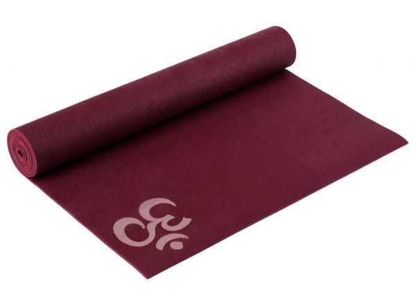 YogiStar Yogamatte Yogimat Basic - OM bordeaux