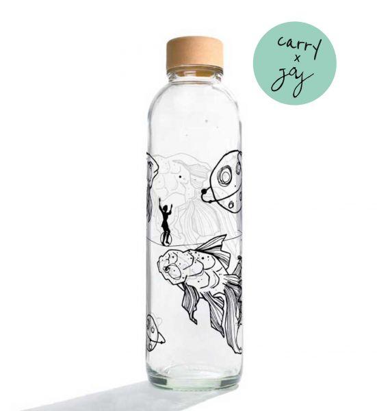 Carry Wasserflasche Liquid Universe 0,7 L